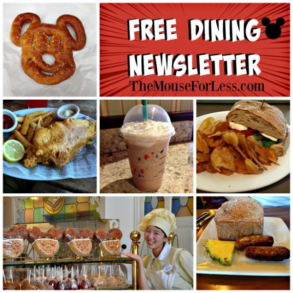 Subscribe to Magical Notifications Newsletter for information about Free Dining and other upcoming specials.