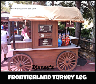 Frontierland Turkey Leg Cart at Magic Kingdom #MagicKingdom #DisneyDining