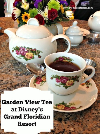 Garden View Tea at Disney's Grand Floridian Resort and Spa #DisneyDining #GrandFloridian