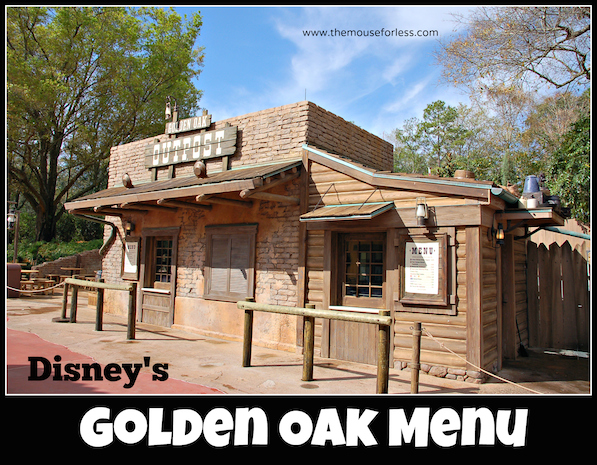 Golden Oak Outpost at the Magic Kingdom #DisneyDining #MagicKingdom
