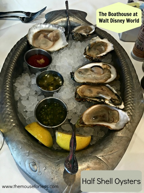 The BOATHOUSE Half Shell Oysters