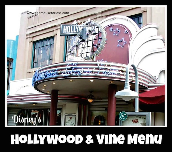 Hollywood and Vine Menu at Disney's Hollywood Studios #Breakfast #Lunch #Dinner #WaltDisneyWorld #CharacterDining #Buffet