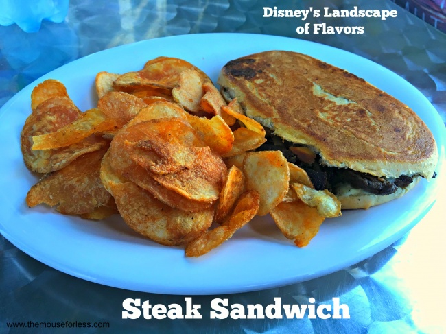 Landscape of Flavors Steak Sandwich