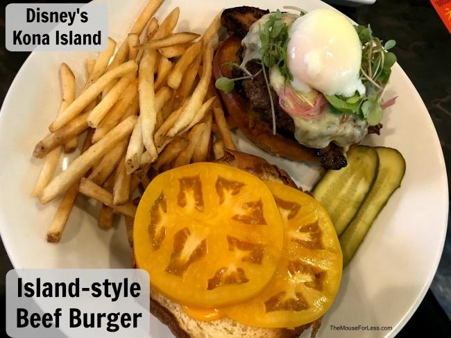 Kona Island Beef Burger