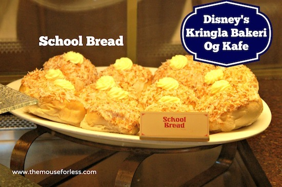 School Bread at Kringla Bakeri Og Kafe Menu - Table Service Restaurant at Epcot #DisneyDining #WaltDisneyWorld