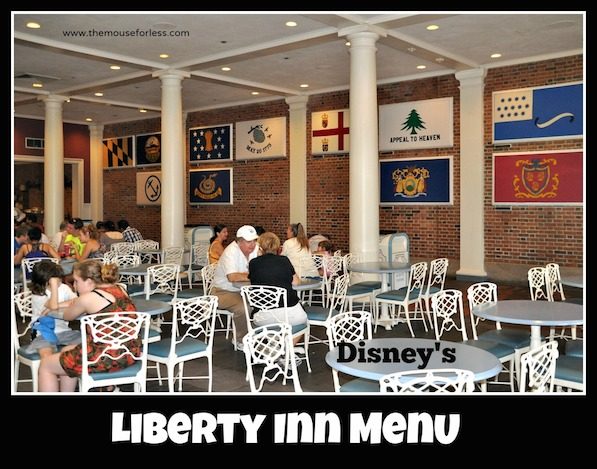 Liberty Inn Menu at Epcot Park #DisneyDining #Epcot