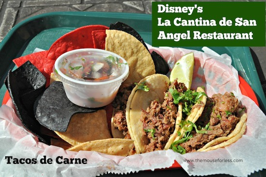 La Cantina Menu at Epcot World Showcase #DisneyDining #Epcot