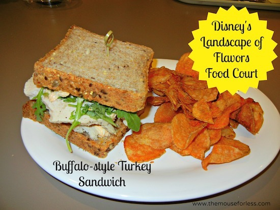 Buffalo-style Turkey Sandwich – Blue Cheese, Arugula, and Buffalo ...