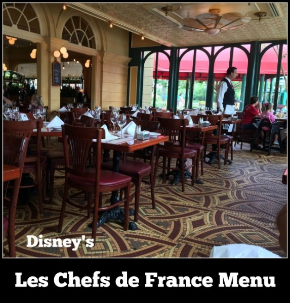 Les Chefs de France Menu 2