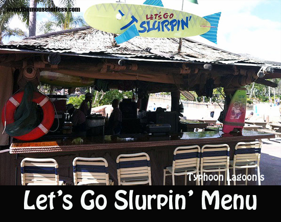 Let's Go Slurpin' Menu