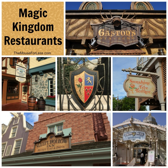 Magic Kingdom Restaraunts
