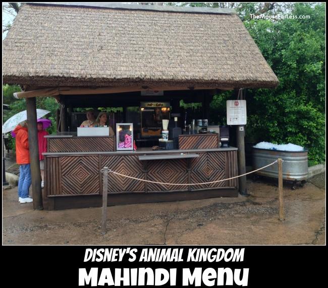 Mahindi Menu