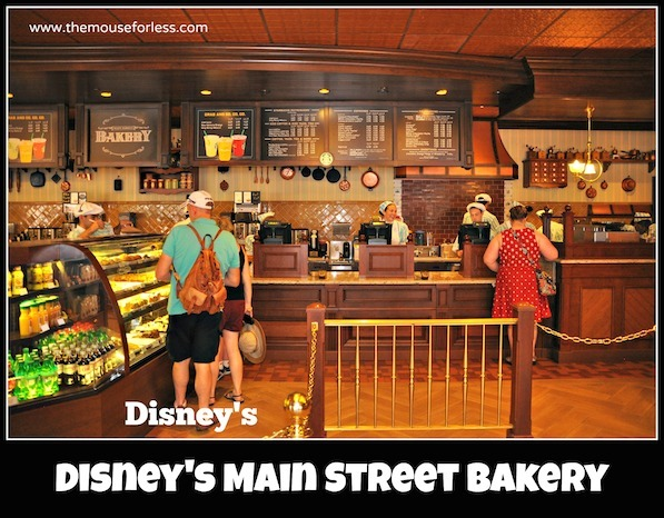 Starbucks Main Street Bakery Menu at Magic Kingdom #DisneyDining #MagicKingdom