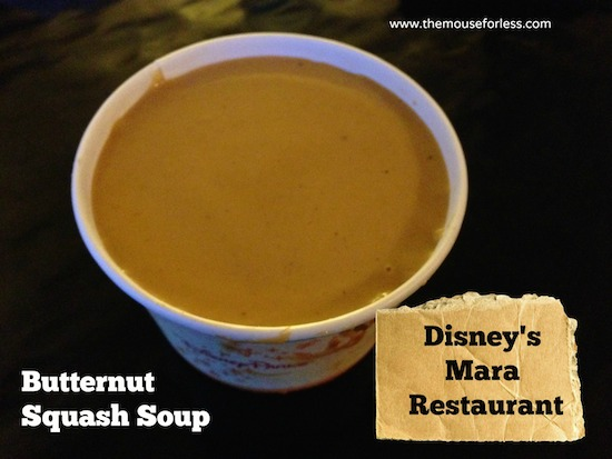 Mara Restaurant Butternut Squash at Disney's Animal Kingdom Lodge #DisneyFood #WaltDisneyWorld
