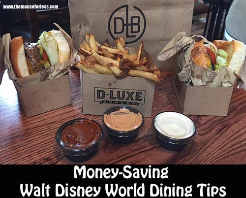 Helpful Money Saving Walt Disney World Dining Tips