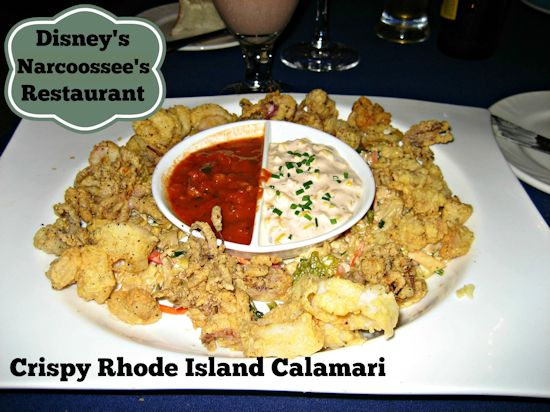 Narcoossee's Calamari at Disney's Grand Floridian Resort and Spa #DisneyDining #GrandFloridian