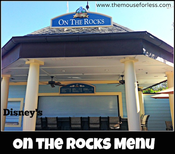 On the Rocks Pool Bar at Disney's Saratoga Springs Resort & Spac #DisneyDining #WDW