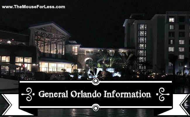 General Orlando Information