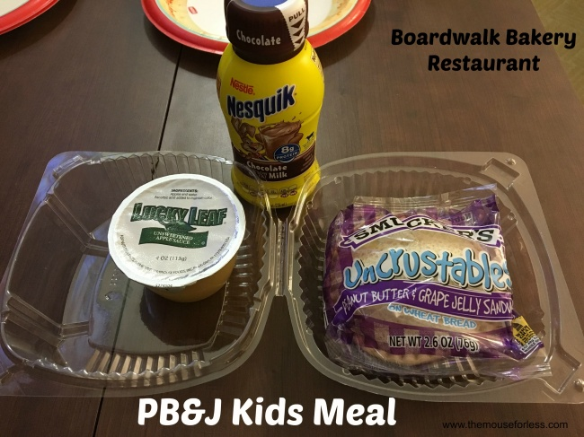 Boardwalk Bakery PB&J Kids Meal