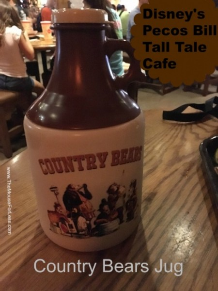 Pecos Bill Country Bears Jug