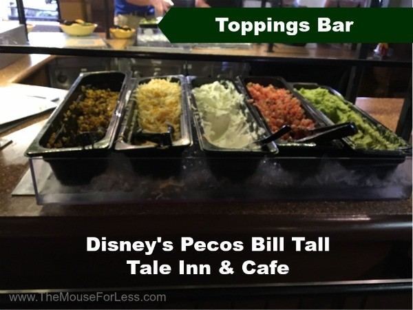 Pecos Bill Toppings Bar