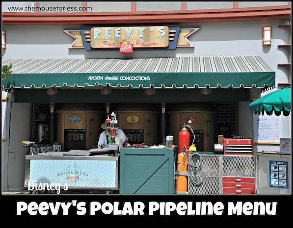 Peevy's Frozen Concoctions at Disney's Hollywood Studios #DisneyDining #DisneysHollywoodStudios
