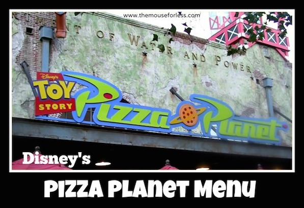 Pizza Planet Counter Service #DisneyDining #HollywoodStudios