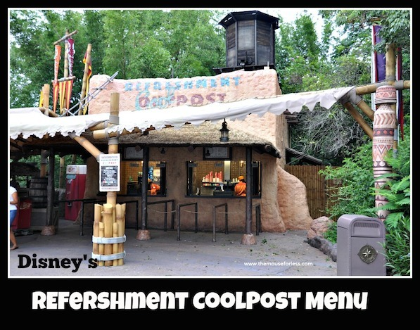 Refreshment Coolpost Menu at Epcot's World Showcase #DisneyDining #Epcot
