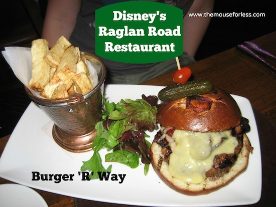 Burger 'r' Way at Raglan Road Sunday Brunch at Disney Springs The Landing #DisneyDining #DisneySprings