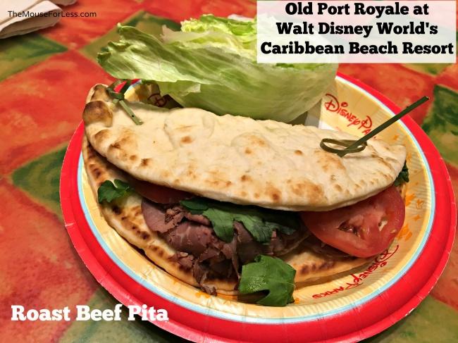 Roast Beef Pita