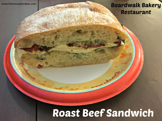 Boardwalk Bakery Roast Beef Sandwich