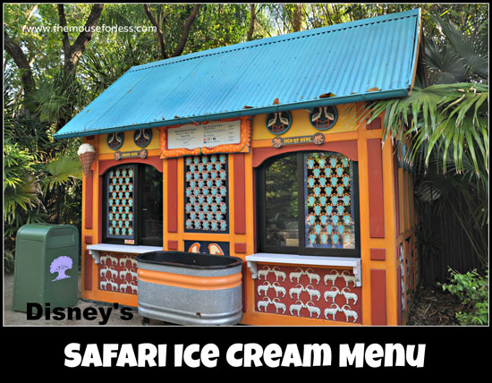 Safari Ice Cream #DisneyDining #AnimalKingdom