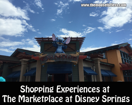 Shopping Experiences at The Marketplace at Disney Springs