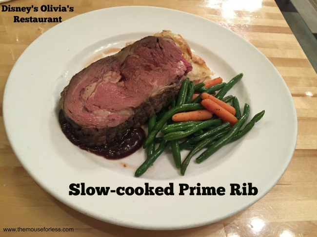 Olivia's Cafe Slow-cooked Prime Rib