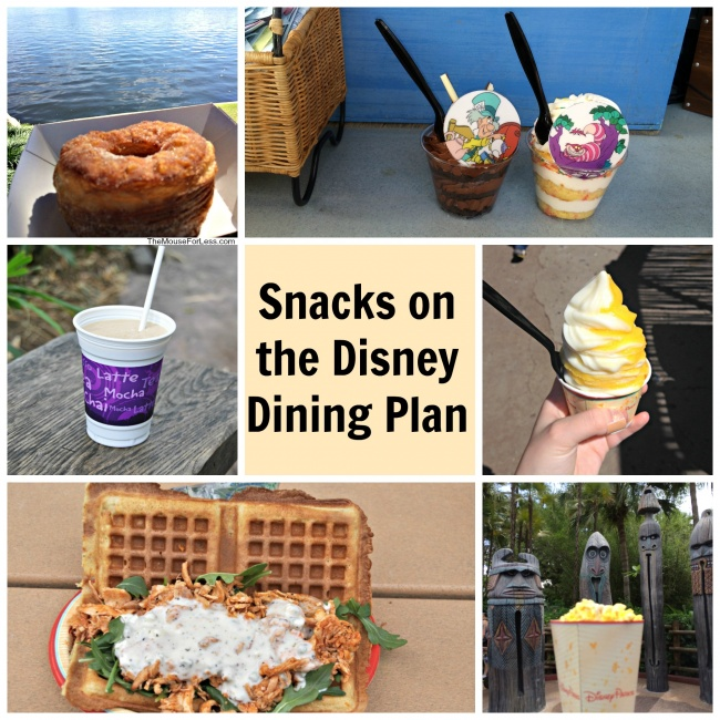 Disney Dining Plan Snacks