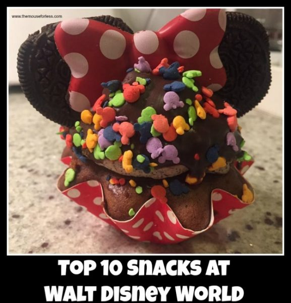Top 10 Snacks at Walt Disney World