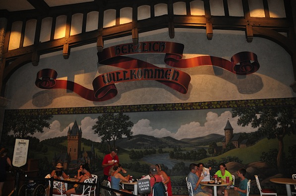 Sommerfest Menu at Epcot World Showcase #DisneyDining #Sommerfest