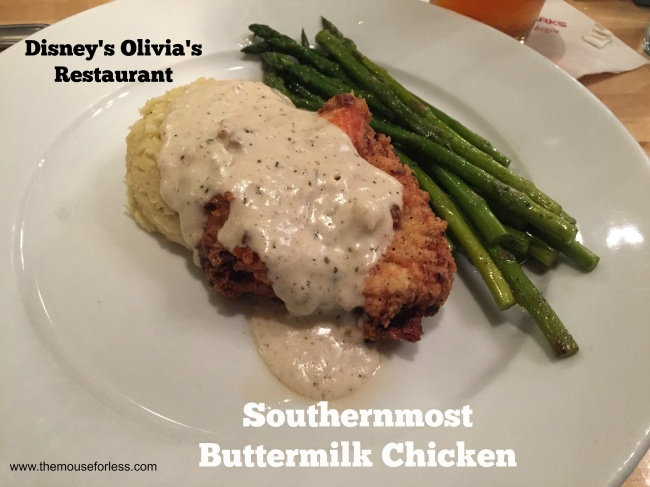 Olivia's Cafe Southernmost Buttermilk Chicken