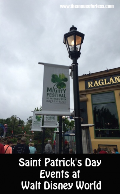 St Patricks Day Events at Walt Disney World