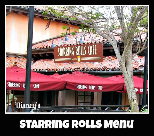 Starring Rolls Bakery Menu at Disney's Hollywood Studios #DisneyDining #HollywoodStudios