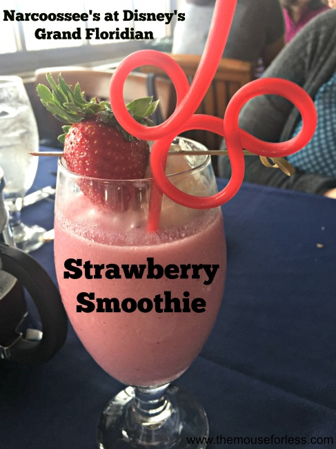 Narcoossee's Strawberry Smoothie