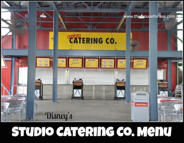 Studio Catering Company Counter Service
