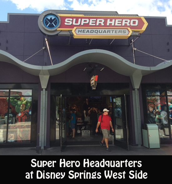 Super Hero Headquarters at Disney Springs