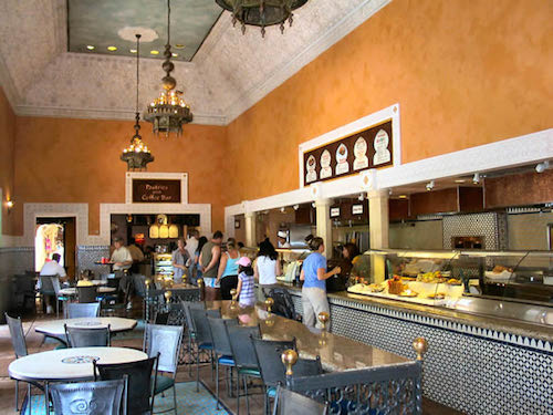 Tangierine Cafe interior
