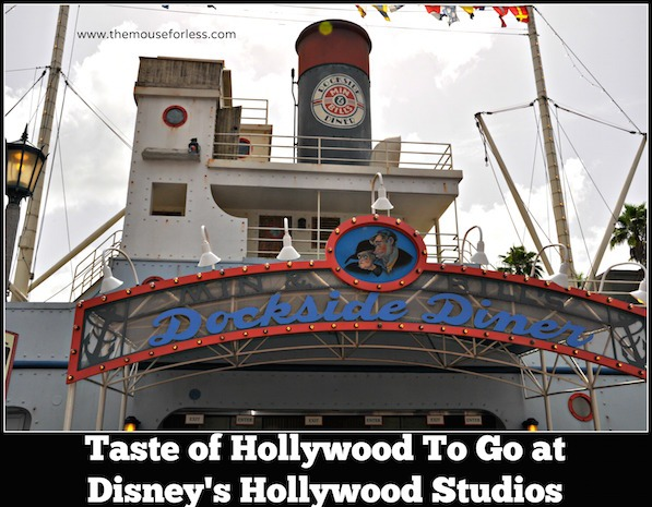 Taste of Hollywood To Go Meals at Disney's Hollywood Studios #DisneyDining #HollywoodStudios