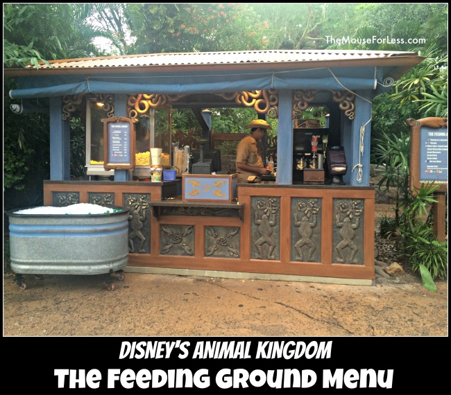 The Feeding Ground Menu