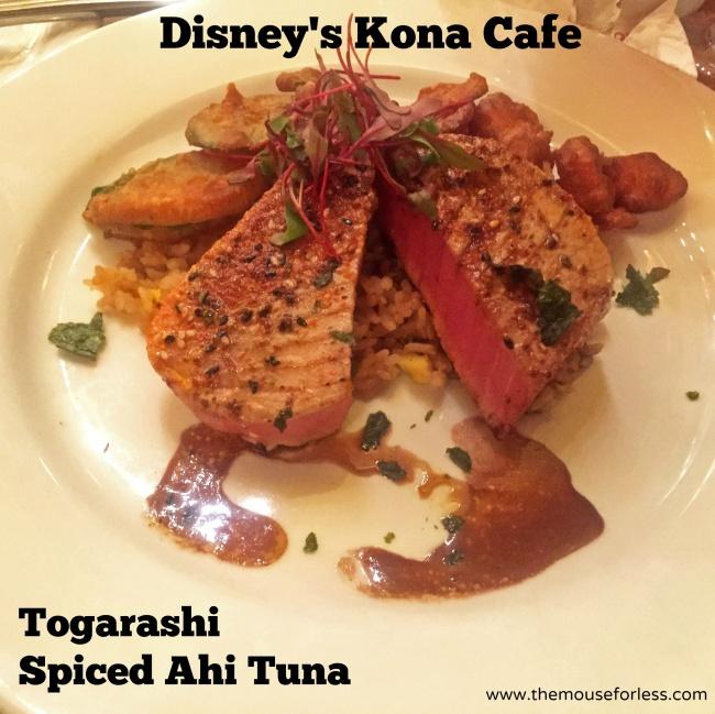 Togarashi Spiced Ahi Tuna