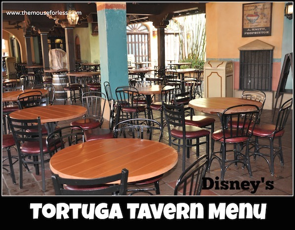 Tortuga Tavern Menu at the Magic Kingdom #DisneyDining #MagicKingdom