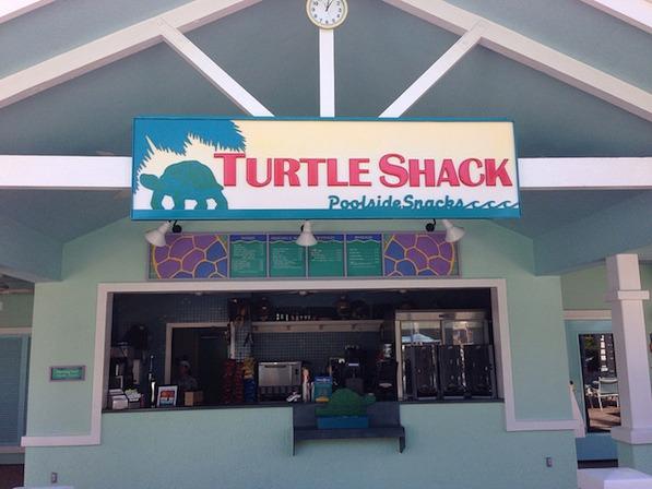 Turtle Shack Pool Bar Menu at Disney's Old Key West #DisneyDining #OldKeyWest