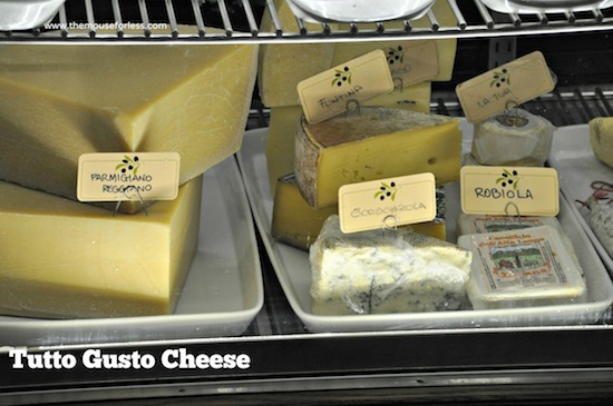 Cheese Selections from Tutto Italia Menu at Epcot's World Showcase in Italy #DisneyDining #Epcot